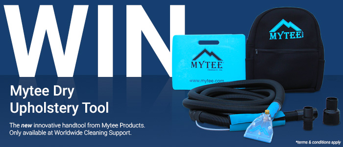 Win Mytee Dry Upholstery Tool And The Winner Is