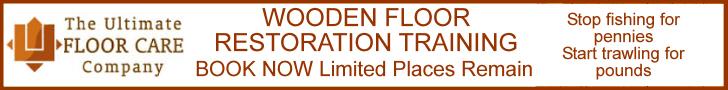 Wooden floor restoration training